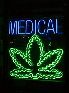 CC image Medical Marijuana by Chuck Coker on Flickr