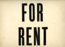 CC image For Rent by Michael Mandiberg on Flickr