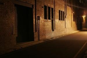 Broken streetlights